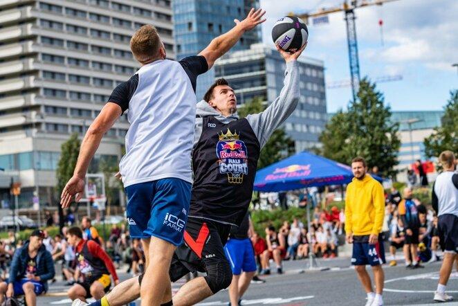 """""""Red Bull Half Court"""" atrankos   Vytauto Dranginio nuotr."""