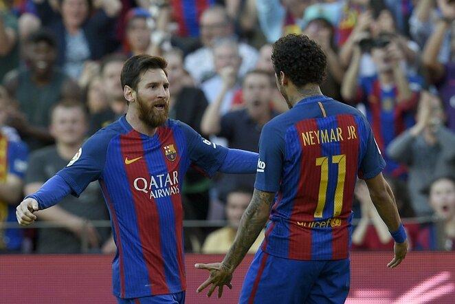 Lionelis Messi ir Neymaras   Scanpix nuotr.