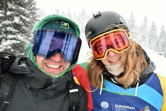 Motiejus Morauskas ir Artūras Morauskas | LTOK nuotr.