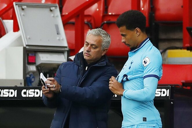 Jose Mourinho ir Dele Alli | Scanpix nuotr.