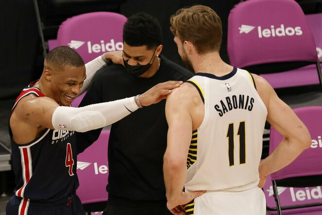 Westbrookas ir Sabonis | Scanpix nuotr.