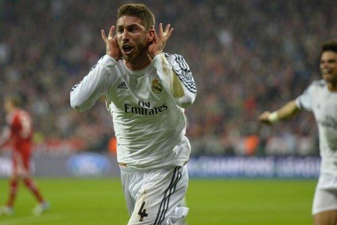 Sergio Ramosas tapo bavarų siaubu | Reuters/Scanpix nuotr.