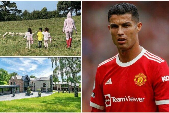 "Cristiano Ronaldo kraustosi | ""Scanpix"" ir instagram.com nuotr."