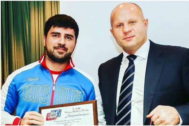 Vladimiras Osija ir Fiodoras Jemeljanenka | Organizatorių nuotr.
