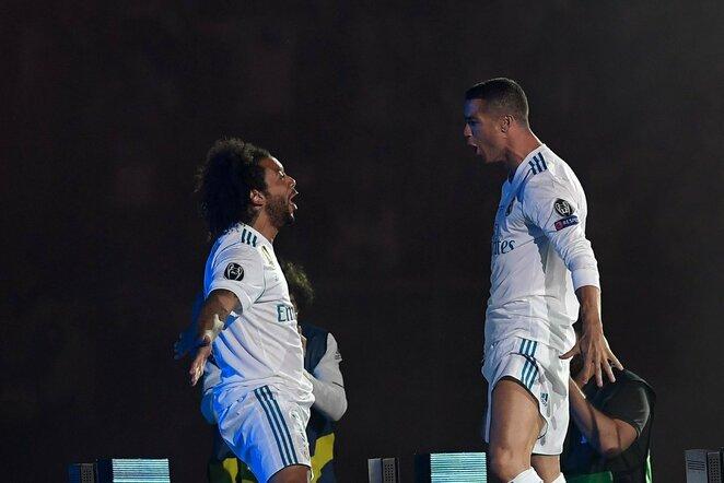 Marcelo ir Cristiano Ronaldo | Scanpix nuotr.