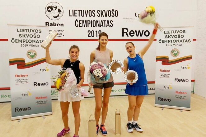 Lietuvos skvošo čempionatas | Organizatorių nuotr.