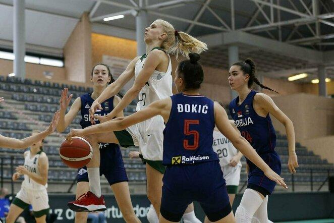 Lietuvių ir serbių rungtynės | FIBA nuotr.