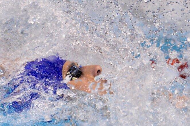 Plaukimas nugara   Scanpix nuotr.