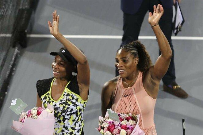 Venus Williams ir Serena Williams   Scanpix nuotr.
