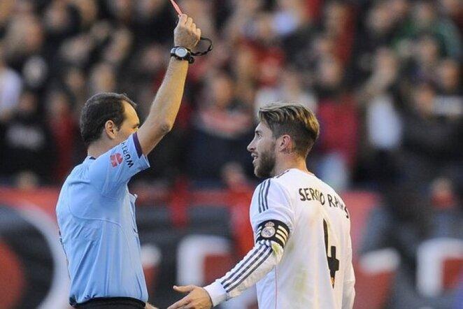 Sergio Ramosas išvengė diskvalifikacijos | AP/Scanpix nuotr.
