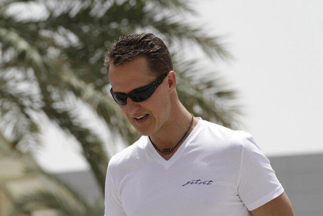 Michaelis Schumacheris   AP/Scanpix nuotr.