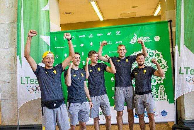 Lietuvos sportininkai palydėti į Europos žaidynes | Vytauto Dranginio nuotr.