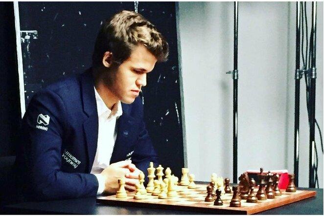 Magnusas Carlsenas   Instagram.com nuotr