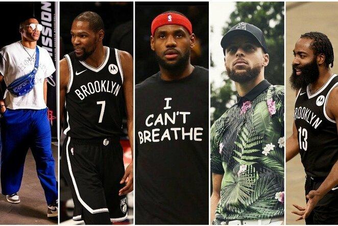 """Daugiausiai uždirbantys NBA krepšininkai   """"Scanpix"""" ir instagram.com nuotr."""