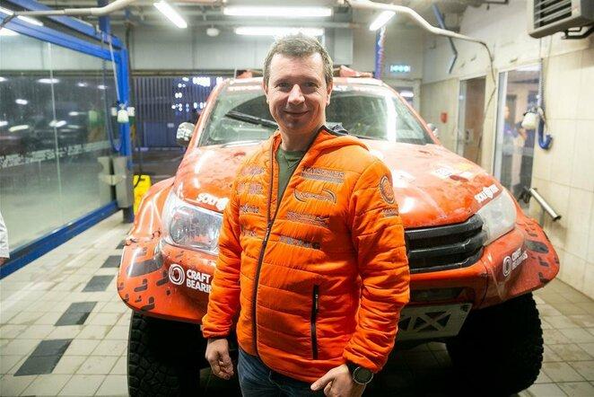 Antano Juknevičiaus automobilis grįžo iš Pietų Amerikos | Žygimanto Gedvilos / BNS foto nuotr.