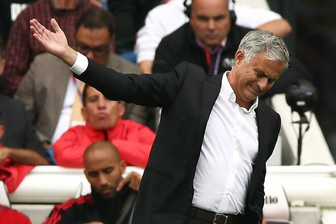 """Brighton"" - ""Manchester United"" rungtynių akimirka   Scanpix nuotr."