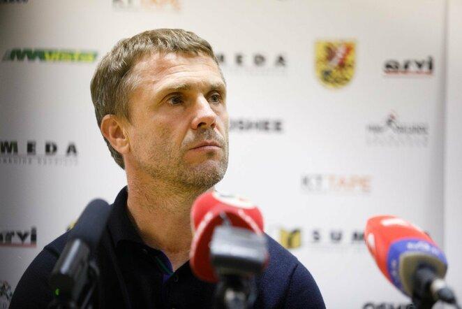 Sergejus Rebrovas | Eriko Ovčarenko / BNS foto nuotr.