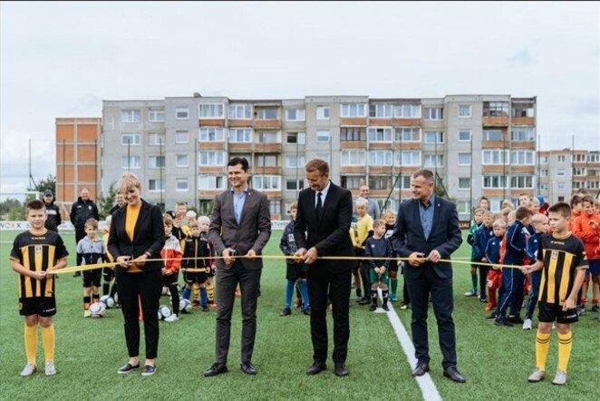 Šiaulių dirbtinės dangos aikštė | Organizatorių nuotr.