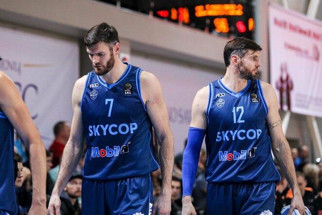Darjušas ir Kšyštofas Lavrinovičiai | Eriko Ovčarenko / BNS foto nuotr.