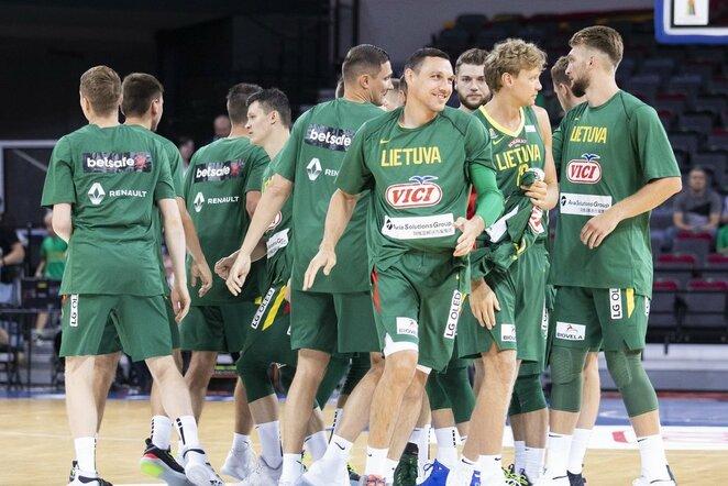 Lietuva –Suomija rungtynių akimirka | Luko Balandžio / BNS foto nuotr.