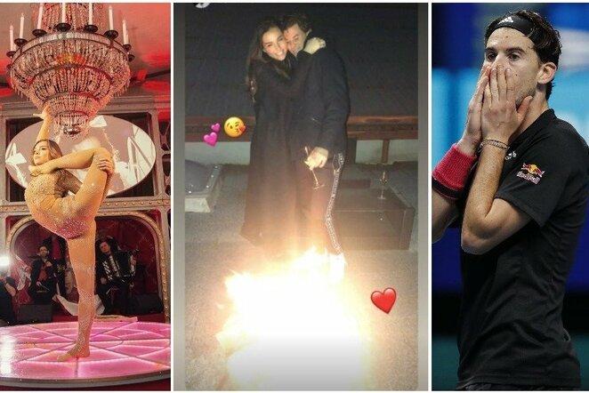 Lili-Paul Roncalli ir Dominicas Thiemas | Instagram.com nuotr