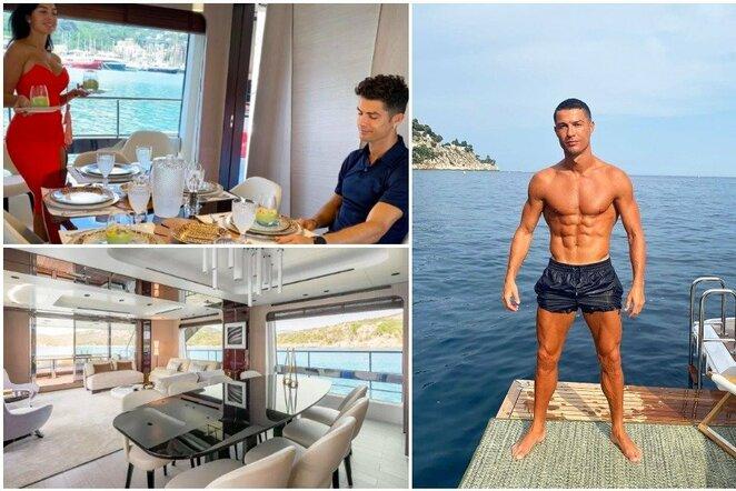 Prabangios Cristiano Ronaldo atostogos   Instagram.com nuotr