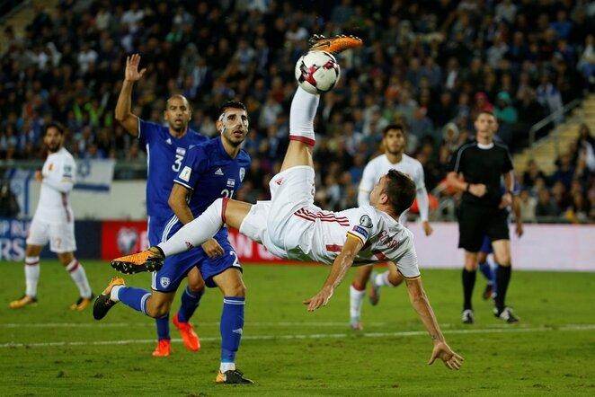 Pasaulio čempionato atranka: Izraelis - Ispanija (2017.10.09) | Scanpix nuotr.