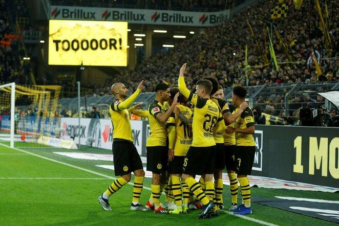 "Vokietijos ""Bundesliga"": Dortmundo ""Borussia"" - ""Freiburg""   Scanpix nuotr."