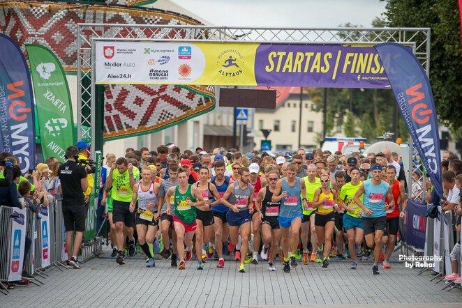 Alytaus pusmaratonis | Roko Lukoševičiaus nuotr.