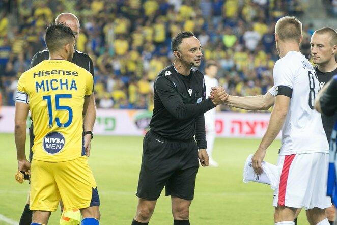 """""""Maccabi"""" ir """"Sūduvos"""" rungtynės   Sauliaus Čirbos nuotr."""