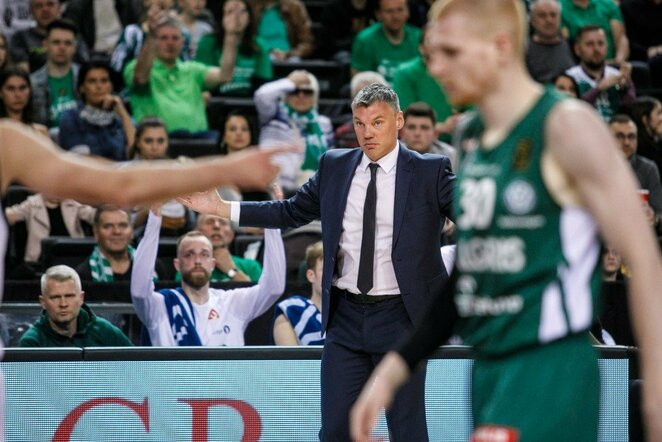 Šarūnas Jasikevičius | Eriko Ovčarenko / BNS foto nuotr.