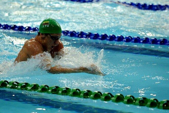 Plaukimas   Fotodiena/Alfredo Pliadžio nuotr.