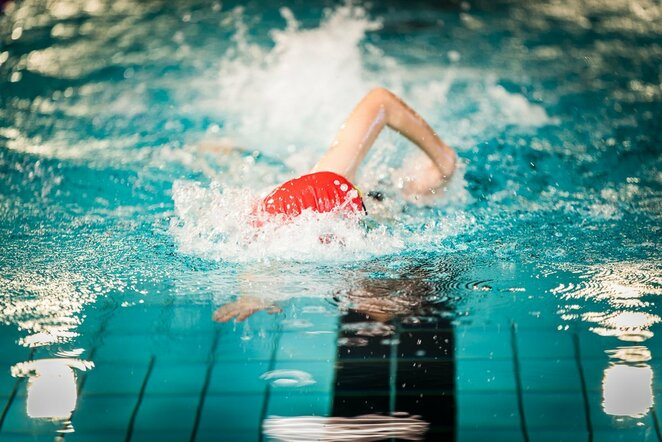 Plaukimas | Manto Repečkos nuotr.