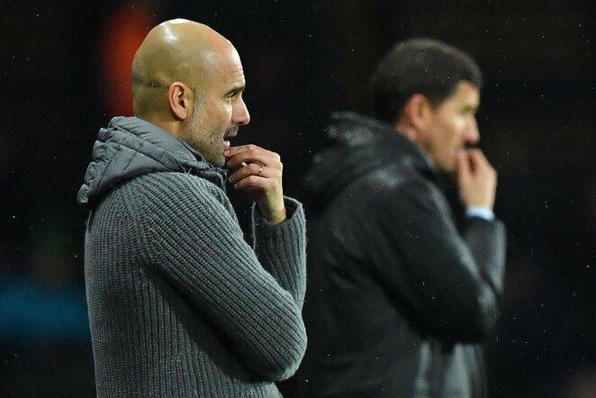"""Watford"" – ""Manchester City"" rungtynių akimirka    Scanpix nuotr."