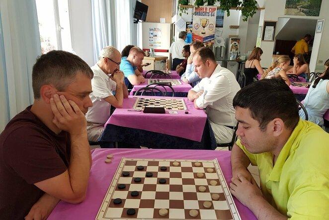 Pasaulio šaškių taurės etapas Riminyje   Organizatorių nuotr.