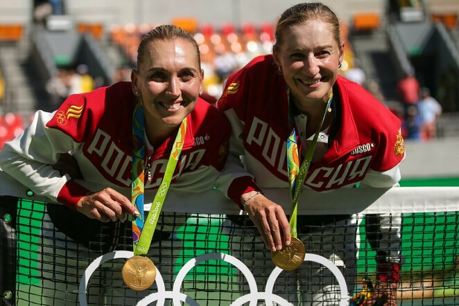 Jekaterina Makarova ir Jelena Vesnina | Scanpix nuotr.