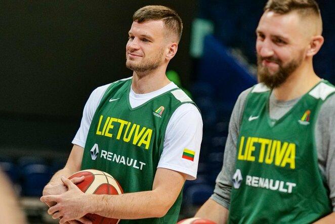 Lietuvos krepšinio rinktinė   Žygimanto Vingelio nuotr.