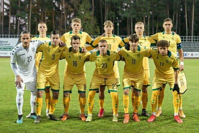 Lietuvos U-21 rinktinė | LFF nuotr.