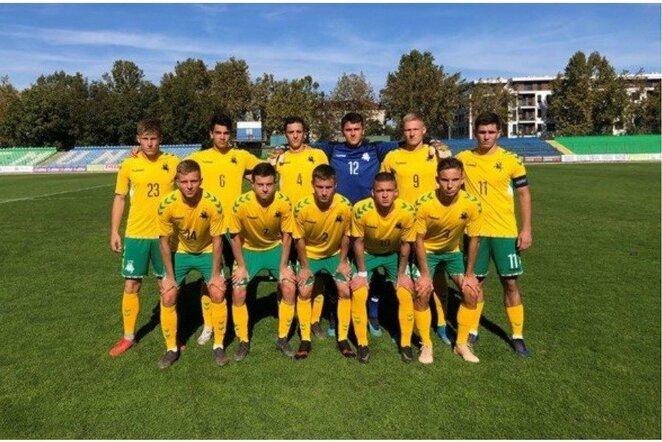 Lietuvos U19 futbolo rinktinė   lff.lt nuotr.