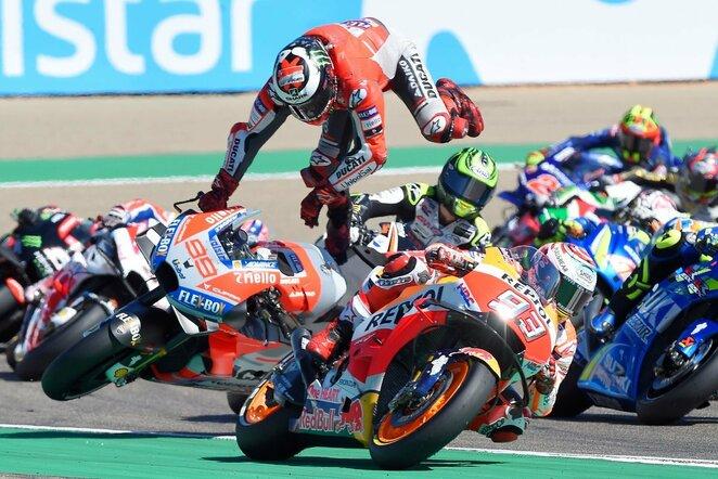 Aragono GP lenktynės | Scanpix nuotr.