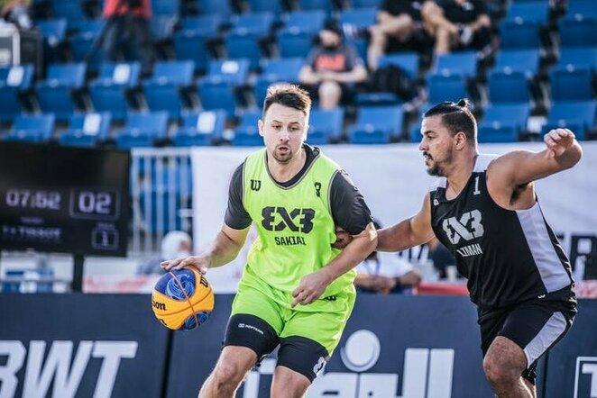 Pasaulio 3x3 krepšinio turo etapas Dohoje | FIBA nuotr.