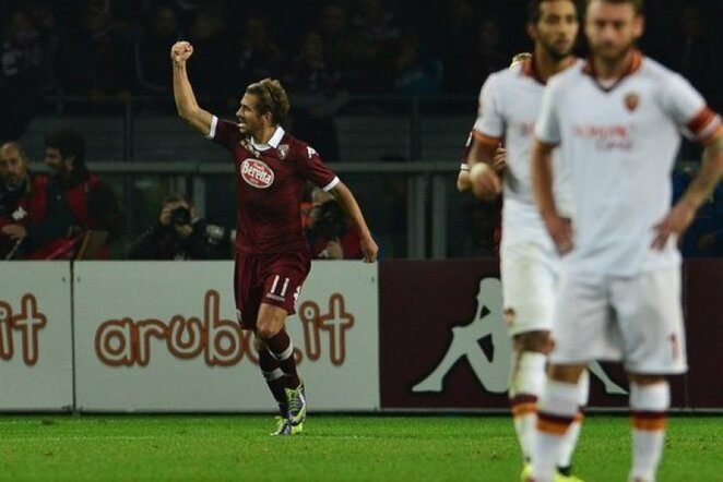 Alessio Cerci džiaugiasi savo įvarčiu   AFP/Scanpix nuotr.