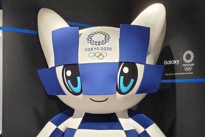 2020m. Tokijo olimpiada   Organizatorių nuotr.