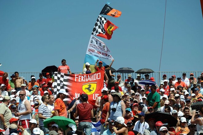 Fanai lenktynėse Turkijoje | Scanpix nuotr.