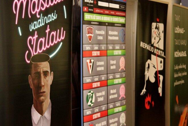 Azartiniai lošimai | Organizatorių nuotr.