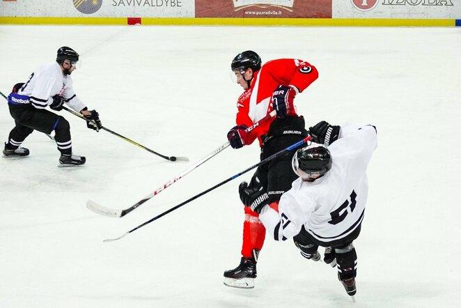 """""""Energija"""" –""""Hockey Punks"""" rungtynių akimirka   Tito Pacausko  nuotr."""