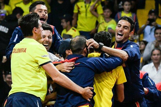 Kolumbijos rinktinės triumfas | Scanpix nuotr.