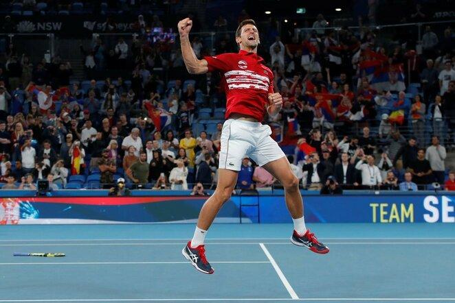 Novakas Djokovičius   Scanpix nuotr.