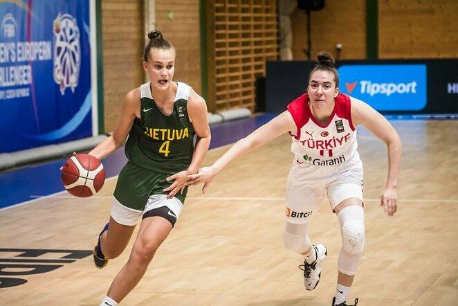 Lietuvių ir turkių rungtynės   FIBA nuotr.