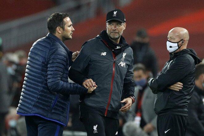 Frankas Lampardas ir Jurgenas Kloppas | Scanpix nuotr.